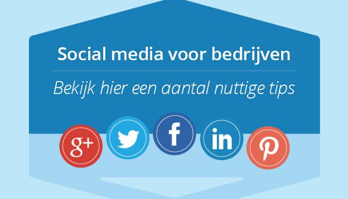 social voor bedrijven