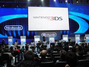 voorbeeld foto van een product lancering bij Nintendo